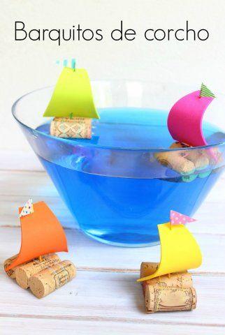 Barcos de corcho: fáciles y divertidos   Blog de BabyCenter
