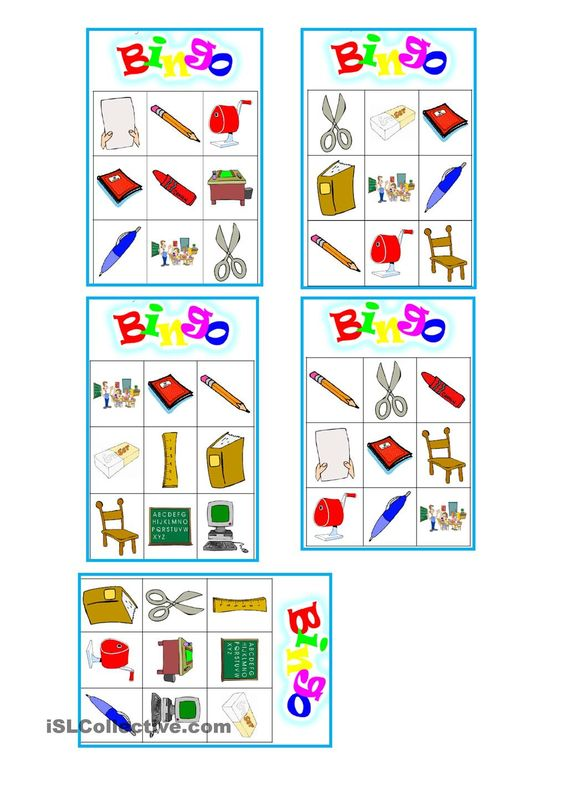 Number Names Worksheets free printable esl worksheets for beginners : Bingo, Teaching and Printables on Pinterest