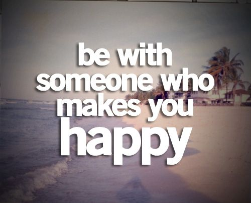 you make me happy :)  you make me smile <3