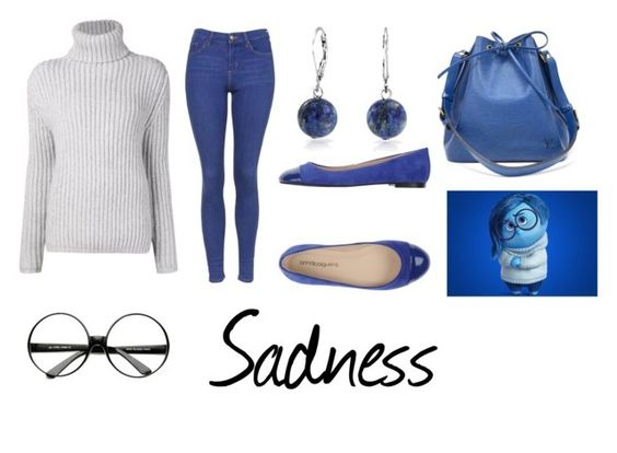 """Sadness, Inside Out"" by jhmb ❤ liked on Polyvore featuring Baja East, Topshop, ANNA BAIGUERA, Bling Jewelry and Louis Vuitton"