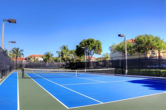 Tennis Courts #palmsofdoral www.palmsofdoral.com