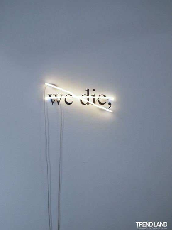 Victor Man, Untitled (We Die,), 2008