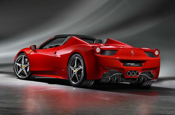 2012 Ferrari 458 Spider. I think I found my new car.
