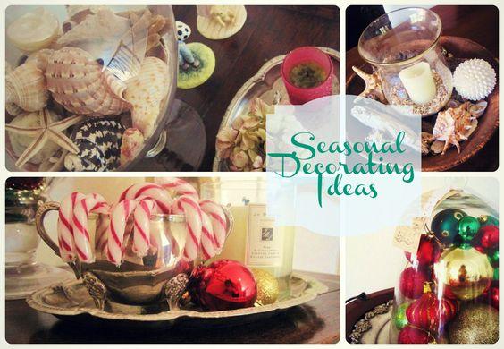 Seasonal Decorating Ideas #Fall #Spring