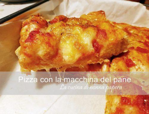 Ricetta Pizza Macchina Del Pane.Pin Su Macchina Del Pane