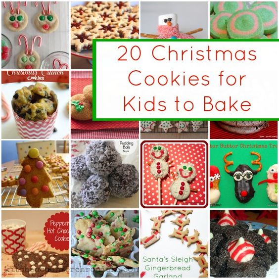 Baking With Kids, Cookie Recipes And Xmas Cookies On Pinterest