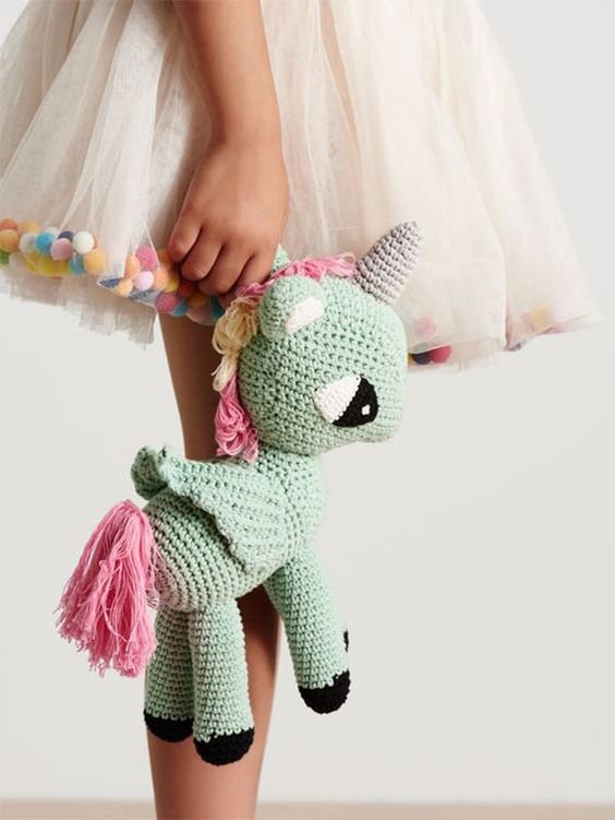What's your Amigurumi spirit animal? The Rainbow Unicorn: he amigurumi unicorn…: