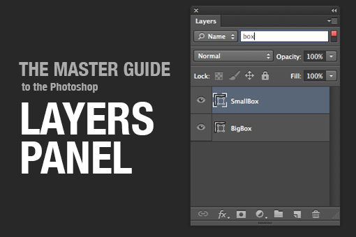 photoshop layers panel