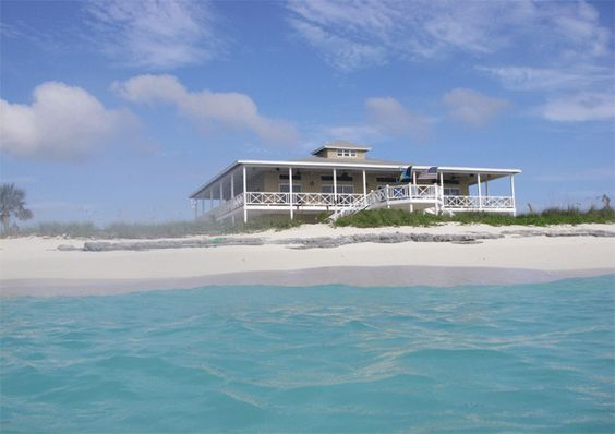 180 miles southeast of Nassau is one of the few Bahamian Family Islands. Dream house on the beach