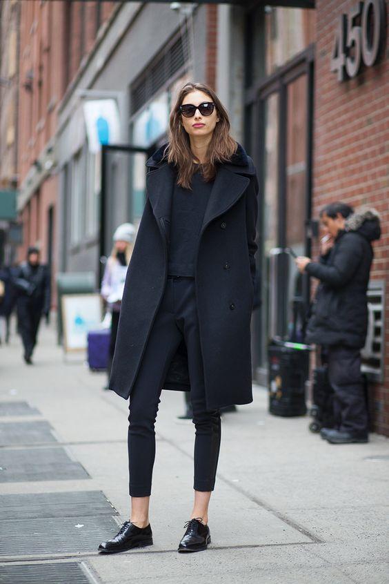 Znalezione obrazy dla zapytania coat autumn 2016 street fashion week
