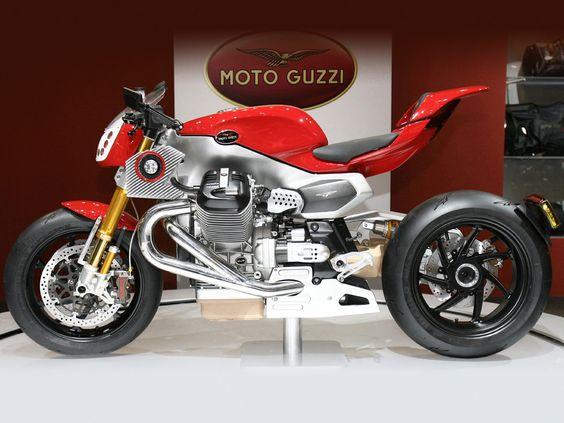 MOTO GUZZI V12 LM Concept (2010) ☜ うひょぉ〜ww