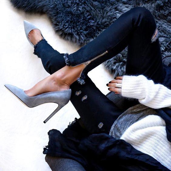 Cute Casual High Heels