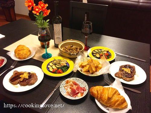 ステーキに合う献立や副菜を大特集 特別な日の食卓を鮮やかに彩ろう
