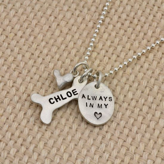 Always in my heart custom necklace