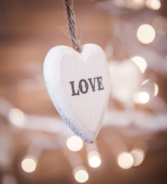 Love, wish tree decoration