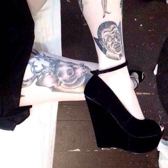 Dracula /vampire tattoo