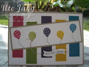 Geburtstagskarte Party-Grüße