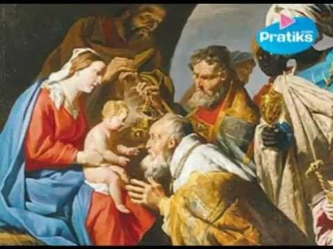 ▶ Histoire et origines de la Galette des rois pour l'epiphanie - YouTube