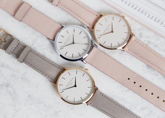 Sublimez vos tenues avec les montres Rosefield