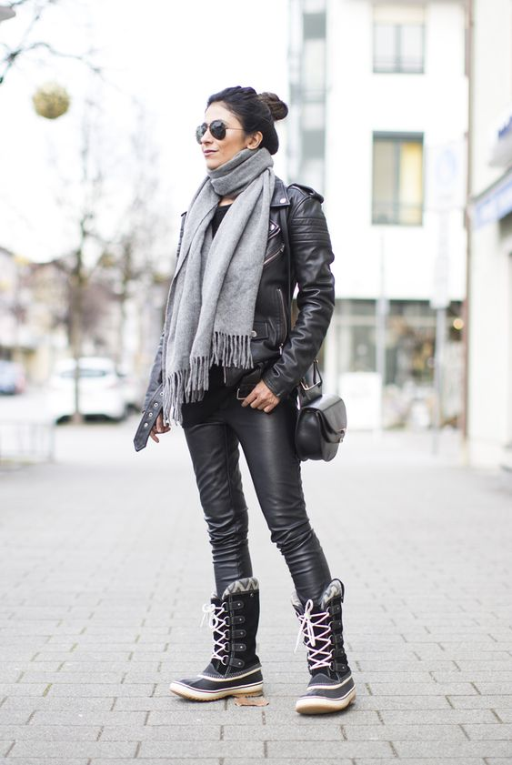 OUTFIT   SOREL JOAN OF ARCTIC BOOTS Fashionlandscape waysify