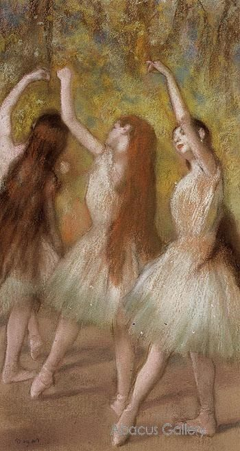 Degas, one of my favorite artists.