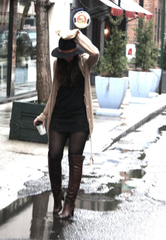 short skirt and a long jacket? ;-) | My Kind Of Style | Pinterest ...