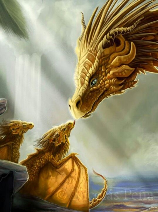 Dragons are very powerful creatures, but also very kind if you have a dragon spell to train one.:
