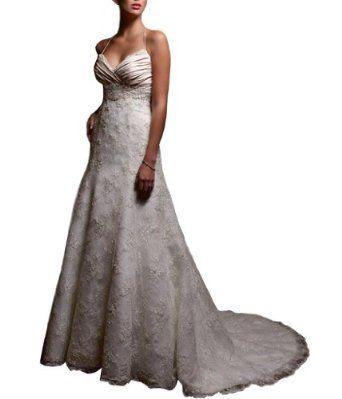 Jeen Wedding Dress Sweetheart Neckline Halter Straps Beaded Lace Over Luxe Satin