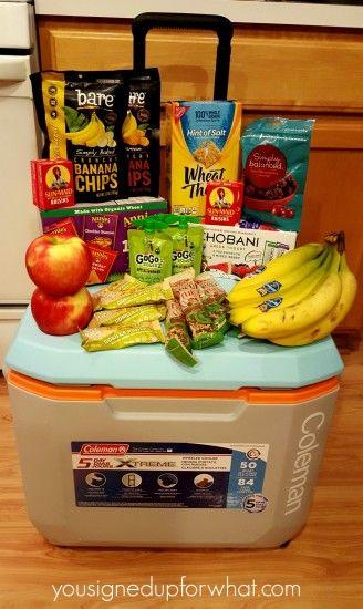 healthy snacks for kids sports teams ideas