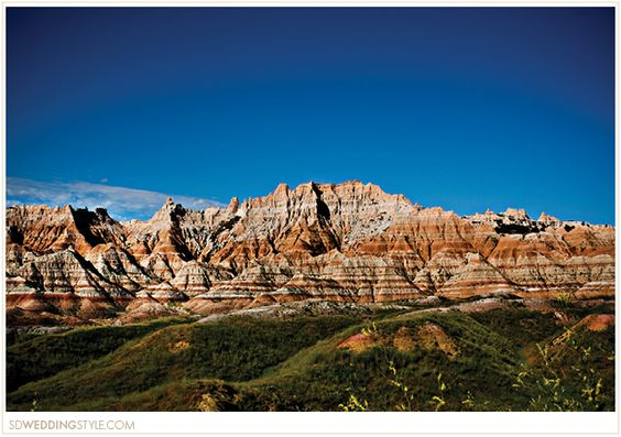 South Dakota Wedding Destination  |  Badlands.