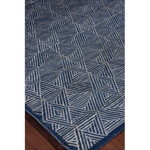 Pavillion Hand Woven Wool Navy Area Rug Navy Area Rug Area Rugs Exquisite Rugs