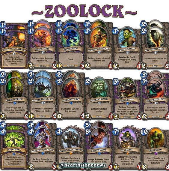 Hearthstone Deck Builds Mage