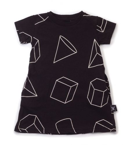 geometric a dress - NUNUNU WORLD