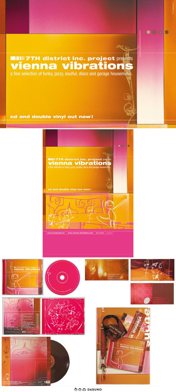 DASUNO // Client: Sony Music // Packaging Design // 2000