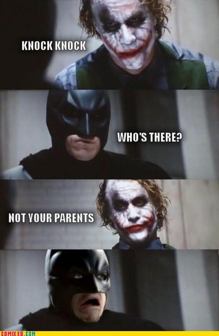hahahahaha!! poor batman!