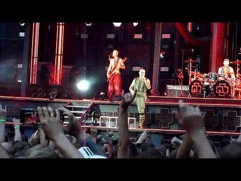 Rammstein Deutschland Live In Copenhagen 19 June 2019 Youtube Rammstein Deutschland Live Concert