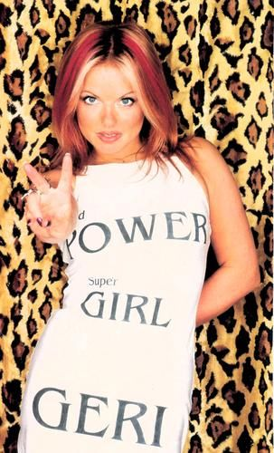 [b] *[Geri Halliwell]* [/b] : Ginger Power    [i]Love is blind, as far as the eye can see  Deep and meaningless, words to me[/i]      Geri Halliwell - Too much (Spice World Movie):  http://es.youtube.com/watch?v=RcQiDG2YqAI | geri__halliwell