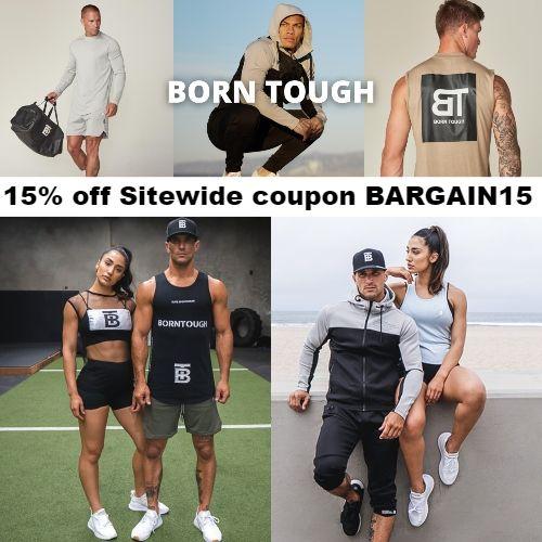 Born Tough Coupon 15 Off Sitewide Code Bargain15 Mens Workout Clothes Intense Workout Workout Clothes