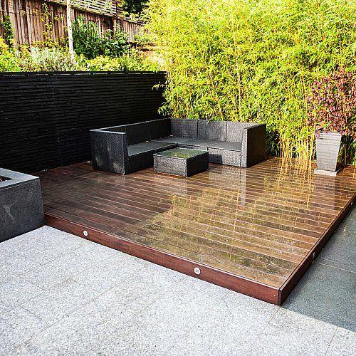 Fantastic Contemporary Garden Located In The Heart Of Ascot Was Design In 2020 Contemporary Garden Garden Design Contemporary