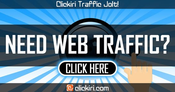NEED WEB TRAFFIC?
