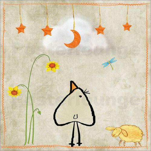 Gute Nacht Piep Bilder: Poster von M. Tenbergen bei Posterlounge.de