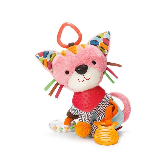 Little hands will stay active (and little minds will stay learning) with this cute and colorful kitty.