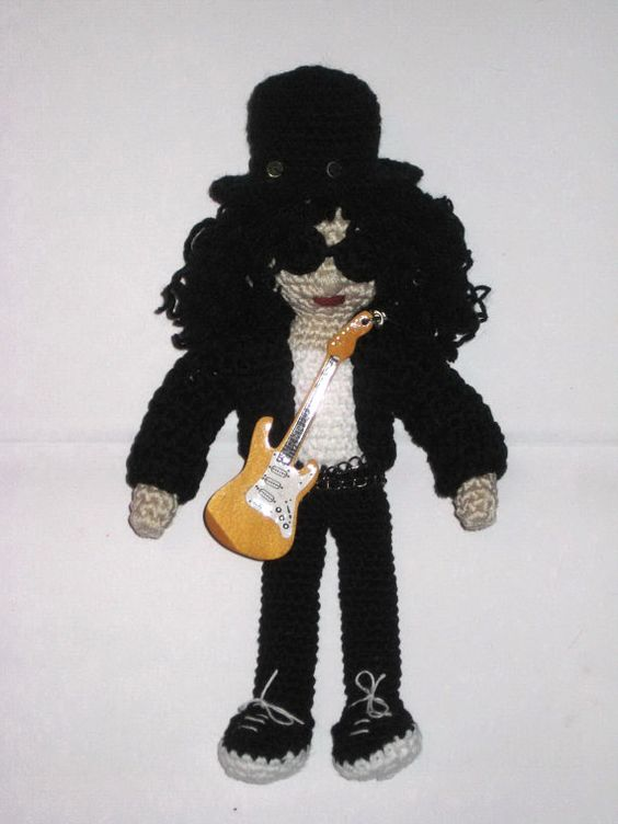 Amigurumi Guitar : Crochet pattern amigurumi - Crochet doll pattern, Two PDF ...