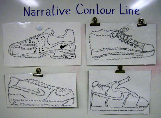 Contour Line Drawing Lesson Plan Middle School : Line drawing lesson plans middle school ideas about