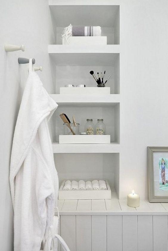 Rangement salle de bain !