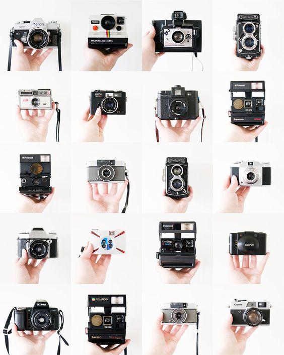 Cameras, cameras, and more cameras.