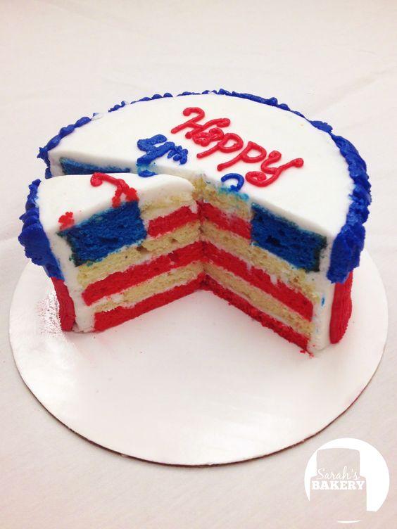 Flag Cake By Sarah's Bakery
