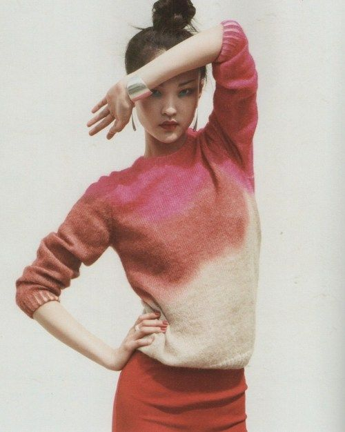 dyed sweater