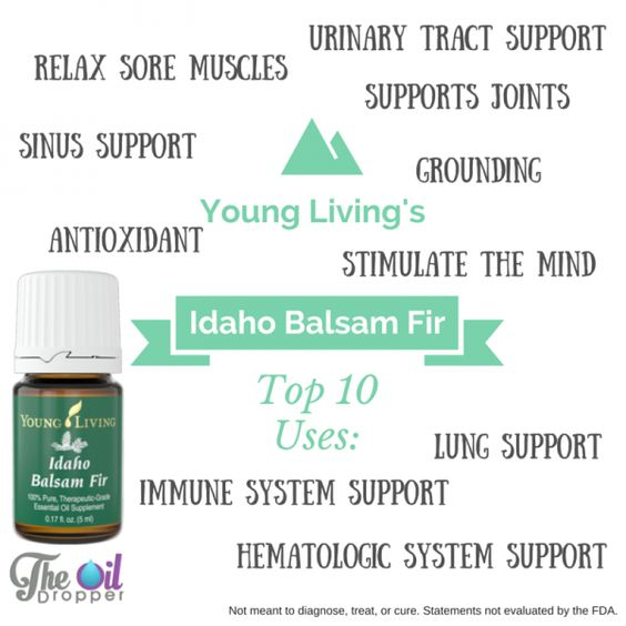 Idaho Balsam Fir Essential Oil - and the top 10 uses. Come by the blog to learn more. www.theoildropper.com/ibf