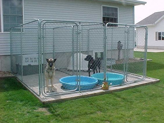 DOG KENNEL. Will also need extra storage for pools etc